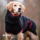 DryUp Cape Hundebademantel Black