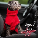 DryUp Cape Hundebademantel Mini Red Pepper