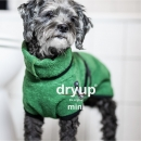 DryUp Cape Hundebademantel Mini Dark Green