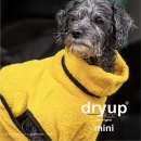 DryUp Cape Hundebademantel Mini Yellow