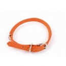 Welpenhalsband Orange - fair gehandelt